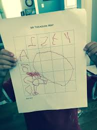 Design A Treasure Map Activity Treasure Map Grid Activity My Little Poppies