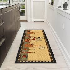 Amazon.com: Ottomanson Siesta Collection Kitchen Chef Design  (Machine-Washable/Non-Slip) Runner Rug, 20