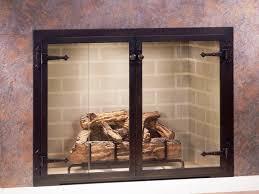 gas fireplace screens fireplace blocker fireplace doors