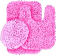 pink bathroom rugs light rug dark and mats bath flamingo