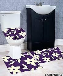 3 piece bath rug set wpm 3 piece bath rug set pattern bathroom rug 3 piece