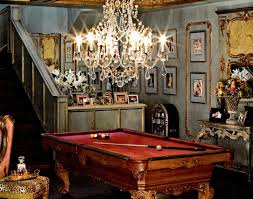 french country style july lighting ideas nasturtium pool table tiffany three lamp chandelier