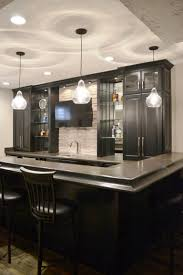 pendants aren t just for the kitchen we used pendant lighting in this recent bar remodel with awesome results there s plenty of light over the bar
