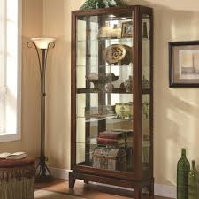 Glass Curio Cabinets With Lights Curio China Cabinets Adams Furniture