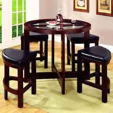 wood pub table and chairs com winsome obsidian set kitchen dining stylish round for
