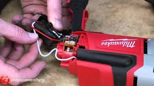 how to replace the switch on a milwaukee 0240 20 corded drill a Drill Switch Wiring Diagram how to replace the switch on a milwaukee 0240 20 corded drill a quick fix youtube milwaukee drill switch wiring diagram