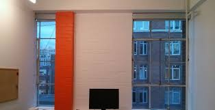 office orange. Off White With Orange Colour In The Office