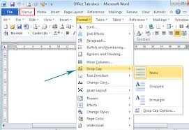 Free Menu Templates For Microsoft Word Interesting How To Drop Cap In Microsoft Word 48 And 48
