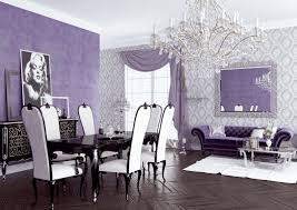 Purple And Black Living Room Room Reveal Purple And Grey Living Room Sophie Robinson Purple And