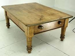 antique pine tables pine coffee table big end drawer antique pine coffee table very chunky informal antique pine tables