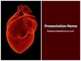 Heart Powerpoint Templates Download Free Human Heart Powerpoint Template For Your