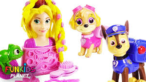 Learn Colors With Paw Patrol Play Doh Sparkle Barbie Disney