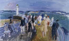 art match jetée à honfleur painted by raoul dufy in 1930