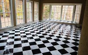 Black And White Marble Floors