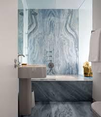 Modern Marble Bathroom Modern Bathroom Design With Recessed Bath Using Marble Bathroom