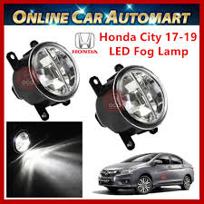 2pcs Oem Honda City 2017 Present Led Car Fog Lampfog Light Bmw Type