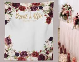 wedding picture backdrops. Interesting Wedding Marsala Wedding Backdrop Photo Booth Decor  Floral Wedding Bridal Shower Backdrop  WA76TP AA3 Throughout Picture Backdrops A