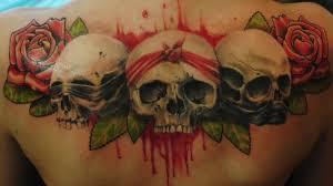 череп значение тату череп с розами вороной и змеей Imle 0318 Hd