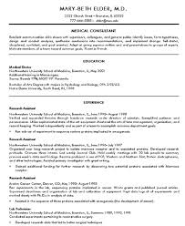 Doctor Resume Sample Resume
