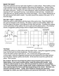 Quillow Pattern Unique Learn How To Make A Quillow Crafts Pinterest Learning Sewing