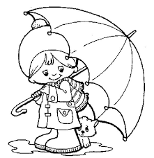 Small Picture Umbrella Coloring Page For Toddlers Coloring Pages