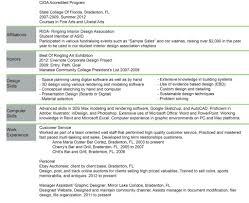 Interior Design Sample Resume Student Examples Australia Designer