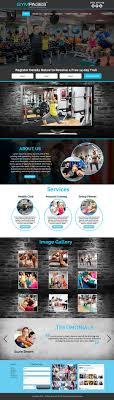 gym website design fitness gym website templates customized gym web pages