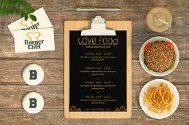 Design A Menu Free Free Psd Restaurant Menu Design Mockup Psd Premium Mock Up
