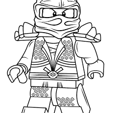 Educations Christmas Lego Ninjago Coloring Pages 1 Lloyd Zx Page