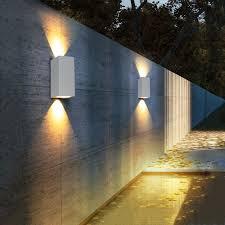 <b>6W LED Wall</b> Lamp <b>Indoor</b> Outdoor Waterproof Aluminum <b>Wall</b> ...