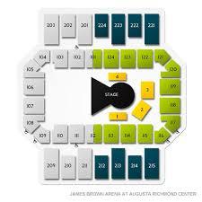 James Brown Arena At Augusta Richmond Center Tickets