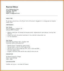 Cosmetology Resume Examples Adorable Cosmetology Resume Examples Socialumco