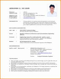 Most Recent Resume Format Current Resume format Luxury Most Recent Resume format] 24 Images 1