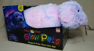 Pillow Pets Glow Pets Shimmering Seal 15 Inches Led Lite Up Timer 3