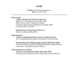 Resume Cv Title Under Fontanacountryinn Com