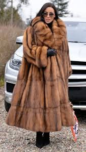 sable furs amazing real russian sable long fur coat with beautiful big collar