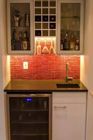 wet bar lighting. an ikea kitchen that pops wet bar lighting