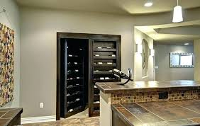 Design For Basement Impressive Basement Wine Rack Racks Design Best Hidden Door R Vietnamradio