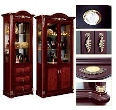 modern lighting concept to living room showcase glass doors design cabinet wooden design