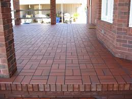 great patio tiles over concrete residence decorating plan basketweave with quarry tile over concrete patio
