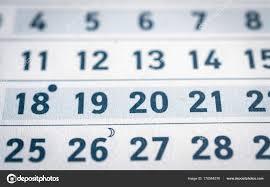 Business Calendar Page Stock Photo Bisonov 170564576