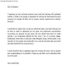 Absent From School Letter Of Absence Template Student Excuse For