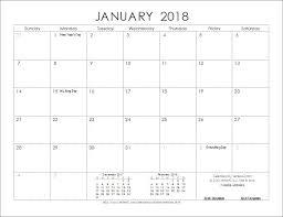 Print Calendar Vertex42 Printable Calendar 2018 Untoldstories Us