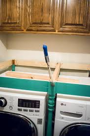how to build a table for the laundry room