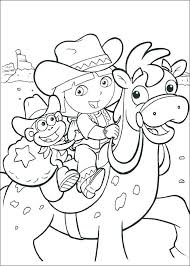 Dora Colouring Pages Free Online Princess Coloring Pages Color