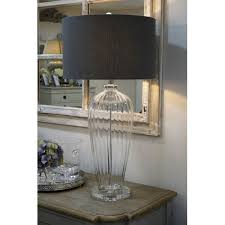 tall glass lamp shade