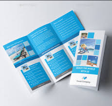 Software Brochure Templates Tourism Brochure Template Psd 25 Travel ...
