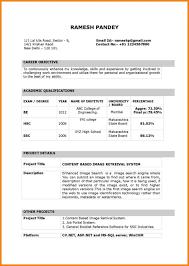 Free Resume Basic Templates Download Easy Resumes Joselinohouse