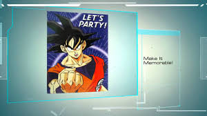 Dragon Ball Z Decorations Dragon Ball Z Birthday Party Supplies Find The Full Line Here 64