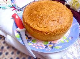 Simple Eggless Vanilla Sponge Cake Eggless Vanilla Sponge Cake